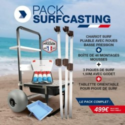 PACK CHARIOT SURFCASTING 2019